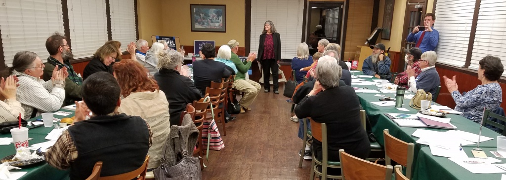 Grayson County Democratic Party monthly meeting