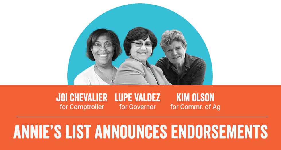 Annie's List announces Democratic candidate endorsements