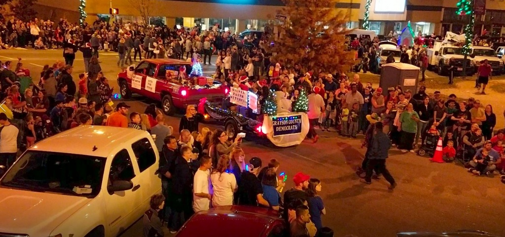 2017 Christmas Parade Sherman Texas
