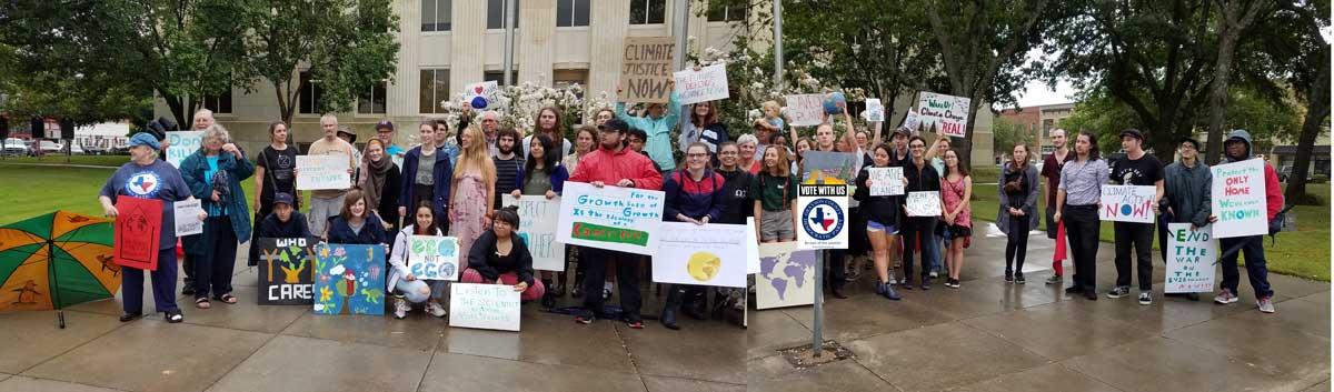 Climate Strike Sherman Texas