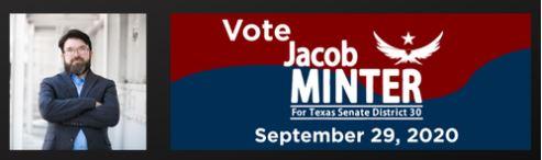 Jacob Minter for SD30