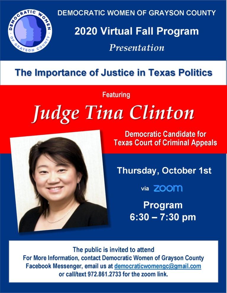 Judge Tina Clinton