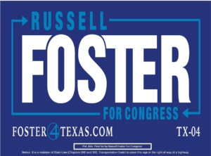 Russell Foster for US Congress