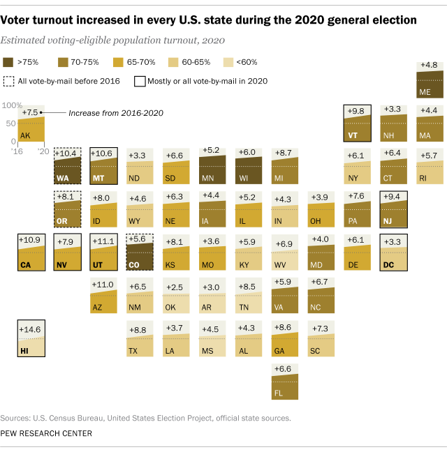 2020 Voter Turnout