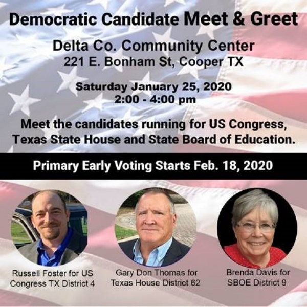 Candidate Meet Greet Delta County